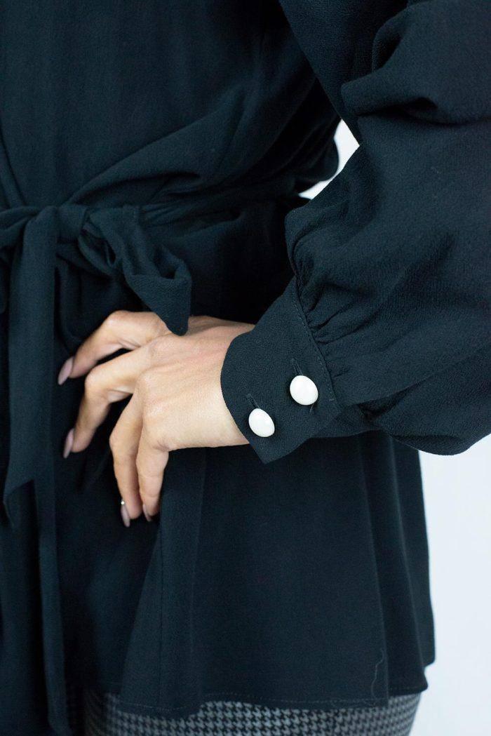 Μπλούζα Μαύρο AVANT GARDE MW-FW20-10023 BLACK - Nook Boutique