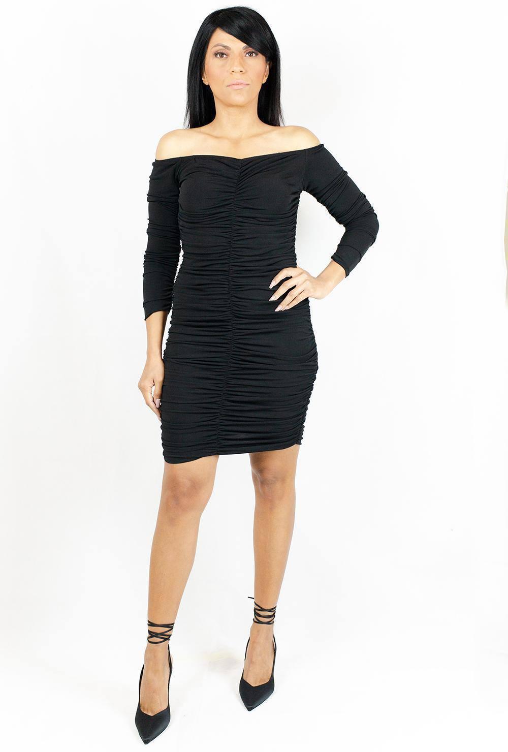 Φόρεμα Μαύρο Avant Garde - Nook Boutique