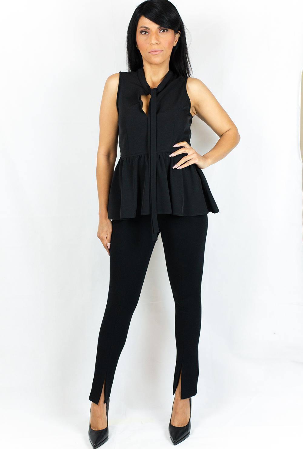 Παντελόνι Μαύρο AVANT GARDE PW-FW20-20060 BLACK - Nook